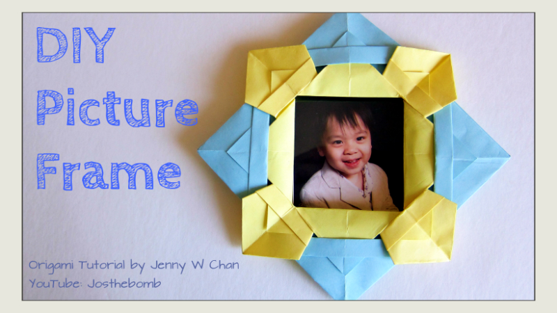 Origami Picture Frame Origamitree